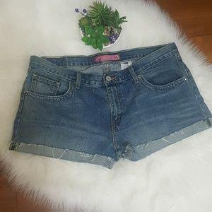 Levi's Boyfriend Demin Shorts Size 9